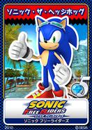 Sonic Free Riders karta 17