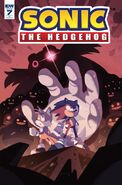 Sonic The Hedgehog -7 (Cover RI)
