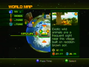 Sonic Unleashed World Map 2