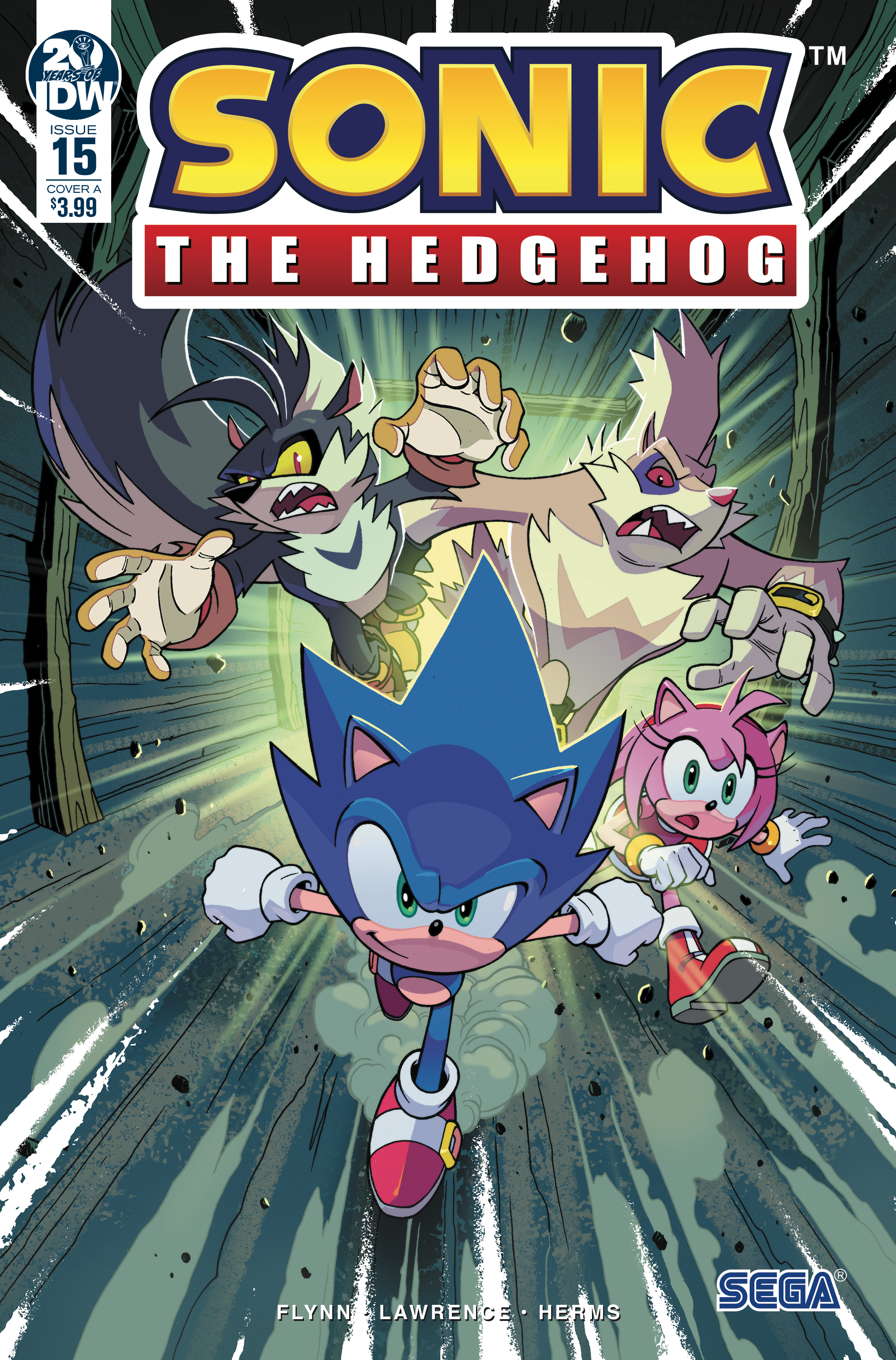 Idw Sonic The Hedgehog Issue 15 Sonic News Network Fandom