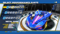 Metal Sonic Sprit Plating Front
