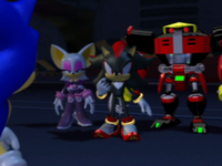SH Team Dark and Sonic the Hedgehog
