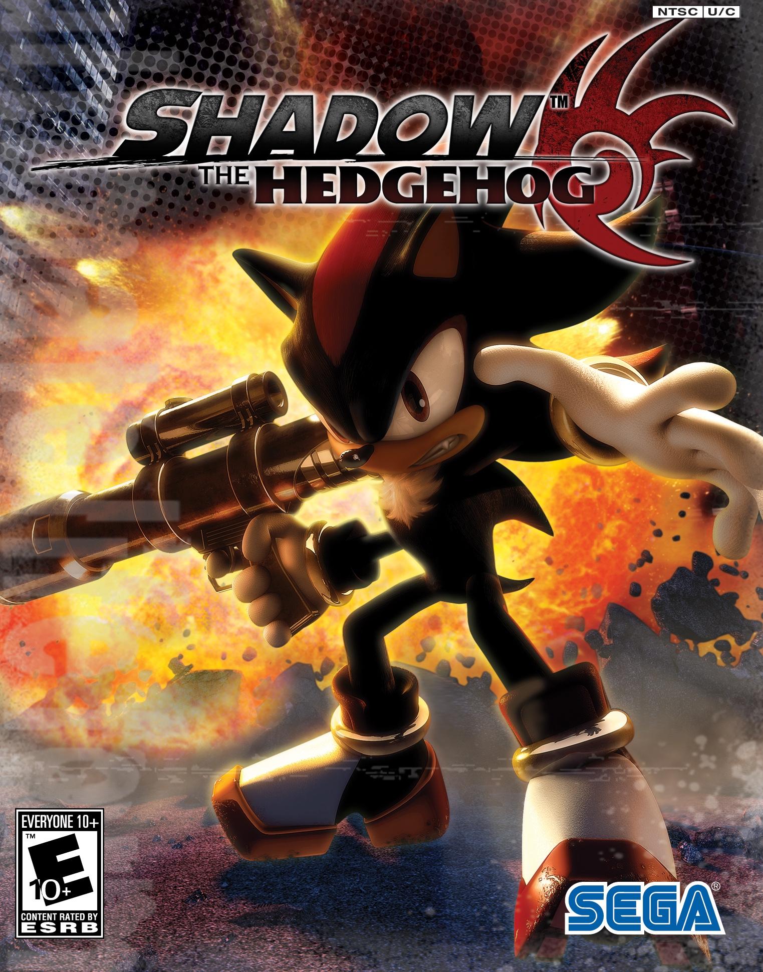 Sonic transformed all shadow scenes