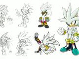 Silver the Hedgehog/Galería