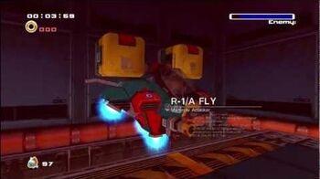 Sonic Adventure 2- R-1A Flying Dog -1080 HD-