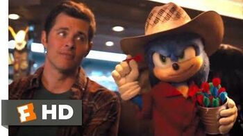 Sonic the Hedgehog (2020) - Sonic's Bucket List Scene (3 10) Movieclips