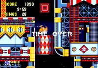 Un Time Over en --Sonic the Hedgehog 3--