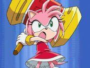 Amy enojada