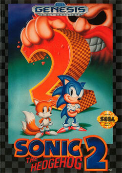 Sonic2-cover art box tapa wonmf