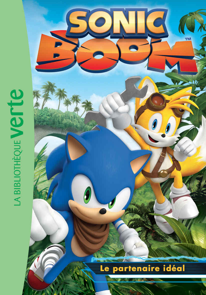 sonic boom book series sonic news network fandom