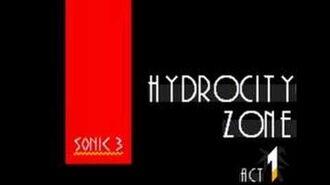 Sonic 3 Music Hydrocity Zone Act 1