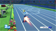 Mario & Sonic at the Rio 2016 Olympic Games - 4x100m Relay Metal Sonic with Super Dash