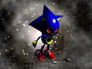 R Artwork Metal Sonic