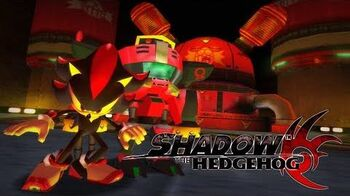 Shadow the Hedgehog - Lava Shelter (Hero) REAL Full HD, Widescreen