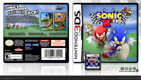 Sonic R 3DS