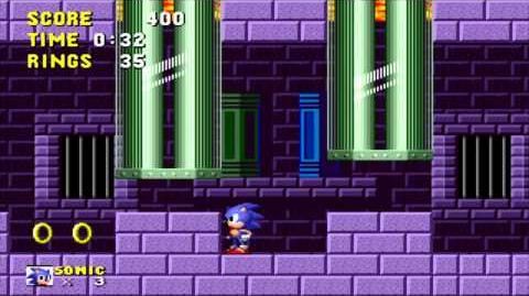 Sonic the Hedgehog Marble Zone Act 1