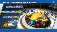 Tails Legendary Crystal Capacitor Rear