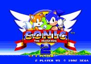 Title Screen - Sonic the Hedgehog 2