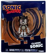 Tomy Collector Series grayscale Classic Sonic figure