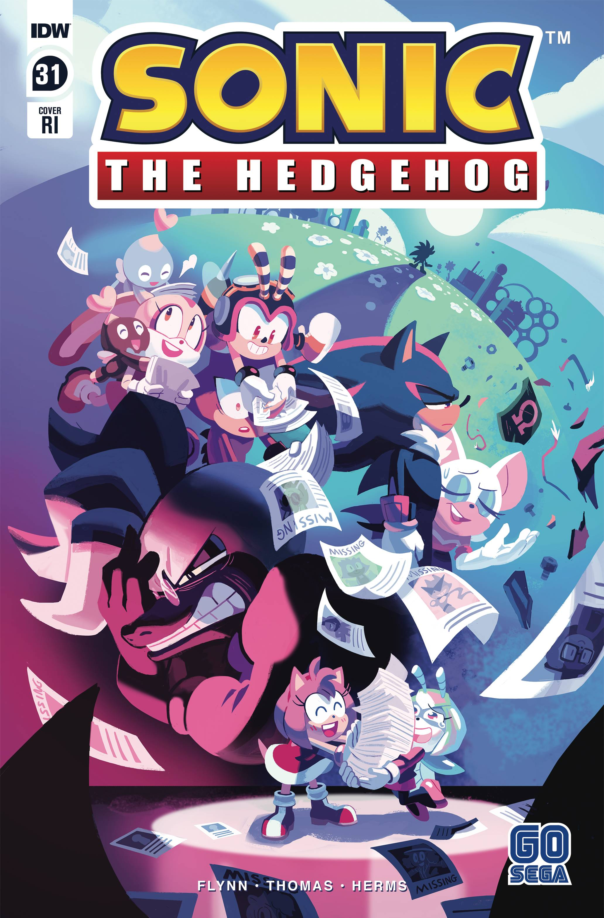 Idw Sonic The Hedgehog Issue 31 Sonic News Network Fandom