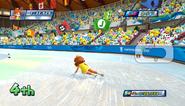 Mario Sonic Olympic Winter Games Gameplay 060