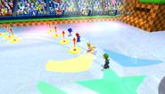 Mario Sonic Olympic Winter Games Gameplay 346