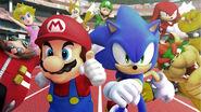 Mario and Sonic Olympics q