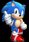 Sonic Generations - Classic Sonic Artwork