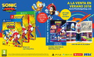 Sonic Mania bodegon