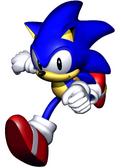 Sonic R Sonic main