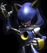 Metal Sonic Rivals sprite 2