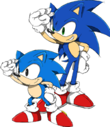 Sonic Channel 2011 art 2