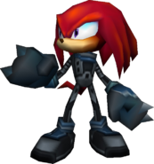Sonic Rivals - Knuckles Metal