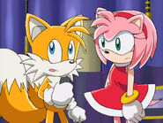 Tails And Amy Sonic X