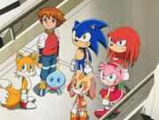 Ep63 Sonic and the gang