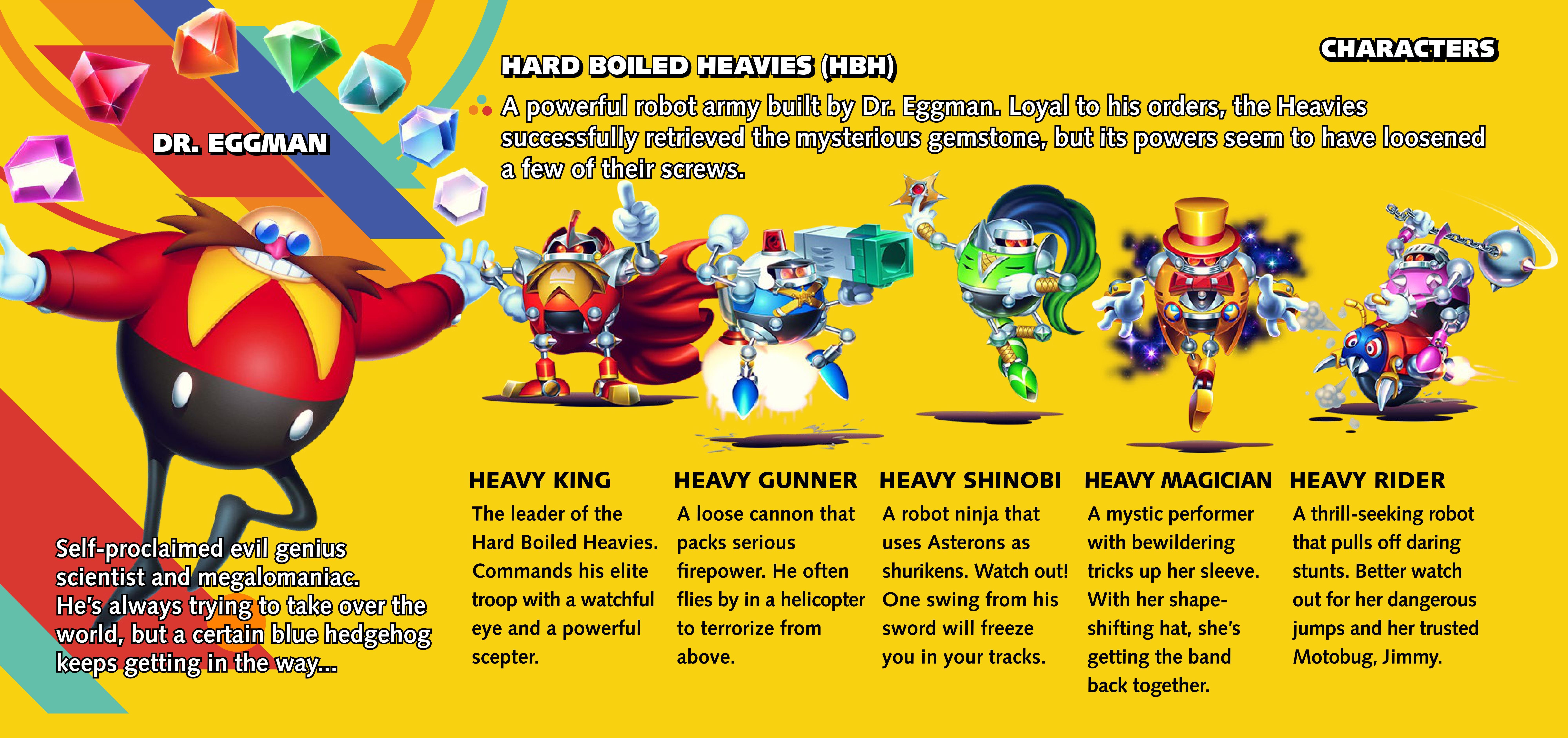 Hard Boiled Heavies | Sonic News Network | FANDOM powered by