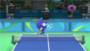 Mario & Sonic at the Rio 2016 Olympic Games - Sonic Table Tennis