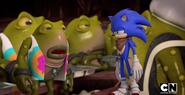 Og telling Sonic his story