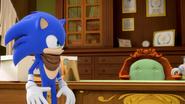 S1E32 Sonic mayor's desk