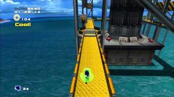 Sonic Adventure 2 (PS3) Metal Harbor Mission 5 A Rank