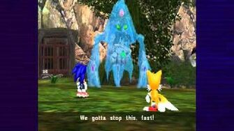 Sonic Adventure DX - Tails vs Chaos 4