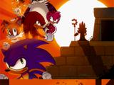 Sonic Chronicles: The Dark Brotherhood Chapter 5: Battle for Angel Island