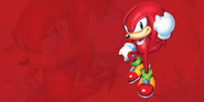 Sonic Mania Knuckles background