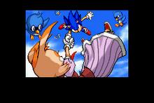 Sonic rescata a Vanilla