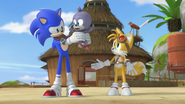 Sonic Chumley and Tails