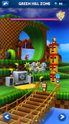 Sonic Dash Green Hill Zone restored