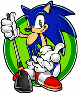 Sonic Golf 3D Artwork