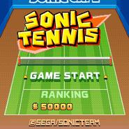 Sonic Tennis 1