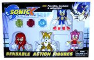Sonic X Bendy figures 0