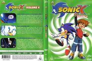 Sonic X Volume 4 AUS cover